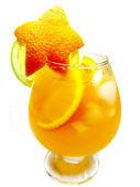 酒拳橙饮料 — 图库照片