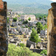 Ruins of ancient dead city kayakoy turkey — Stock Photo