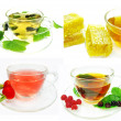 Fruit tea with black currant extract — Stock Photo #44054211
