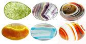 Besticke Kristalle geologische Mineralien Satz — Stockfoto