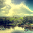 View of north wales — Stock Photo