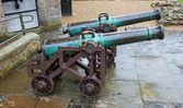 Two cannon — Stock Photo