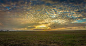 Lincolnshire wolds clouds — Stock Photo