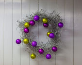 Christas wreath — Stock Photo