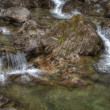 Babbling brook stream — Stock Photo