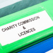 Stock Photo: Charity licences