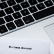 Stock Photo: Business account