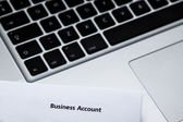 Business account — Stock Photo