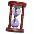 Stock Photo: Egg timer close up