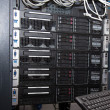 Small business server rack — Stock Photo