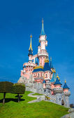 Disney Castle Disneyland Paris — Stock Photo