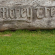 Stock Photo: Money tree carving