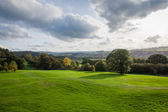 Derbyshire dales in the peak district — Stock Photo