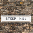 Stock Photo: Steep Hill
