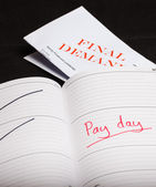 Pay day loan — Stock Photo