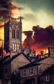 Lincoln Cathedral — Stockfoto