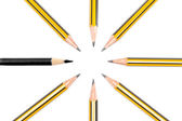 Pencils together — Foto de Stock