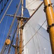 Sails of a tall sailing ship — Stock Photo #12023040