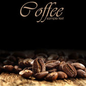 Fresh coffee — Stock Photo