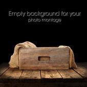 Caja vacía — Foto de Stock