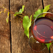 glass of wine — Stock Photo #12404654