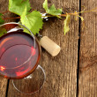 glass of wine — Stock Photo #12405002