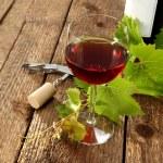 Glass of wine — Stock Photo