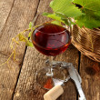 Glass of wine — Stock Photo #12406448