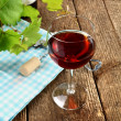 glass of wine — Stock Photo #12406791