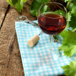 glass of wine — Stock Photo #12407125