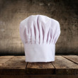 Stock Photo: Cooking hat