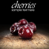 Fresh cherries — Photo