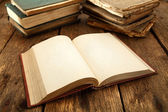Old books — Stockfoto