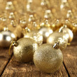 Balls of christmas — Foto Stock