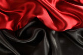 Background of red and black curtains — Stock fotografie