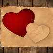 Stock Photo: Greeting card for Valentine's Day
