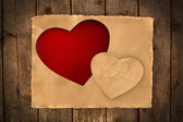 Greeting card for Valentine's Day — Stok fotoğraf