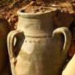 Ancient pottery — Stock Photo