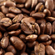 Smoke on coffee beans — Stock Photo #18654045
