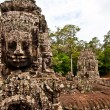 Stock Photo: Faces of Avalokiteshvara, Bayon , Angkor Thom, Siem Reap, Cambodia