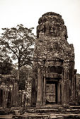 One of the Bayon Temple, Angkor Thom, Siem Reap, Cambodia — Stock fotografie
