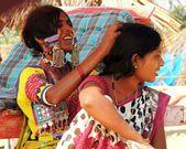 Indian women. — Stock Photo