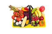 Grocery Basket — Stock Photo