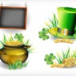 Stock Vector: St. Patrick's Day - vector greeting card