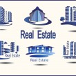 Set of vector icons Real Estate — Stock Vector #43196301