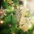 Christmas Tree Decorated — Stock Photo #10681094