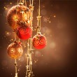 Christmas and New Year border Design — Stock Photo #10687349