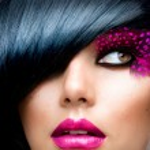 Fashion Brunette Model Portrait. Hairstyle — Stock Photo