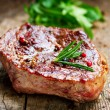 Grilled Steak - Foto Stock