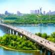 Kiev City - the capital of Ukraine - 图库照片